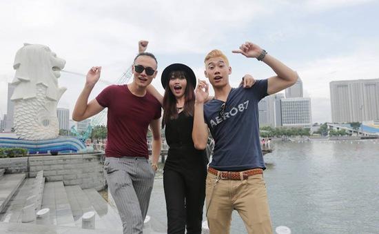 """Thí sinh Vietnam's Next Top Model """"du ngoạn"""" Singapore"""