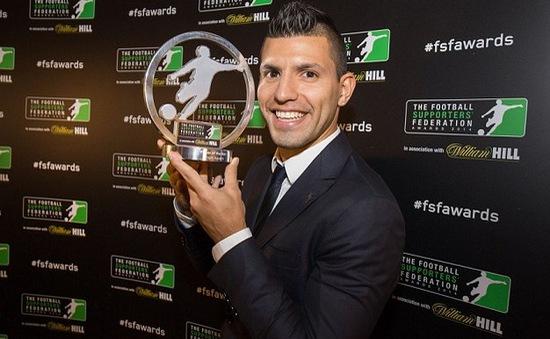 Sergio Aguero xuất sắc nhất Premier League 2014