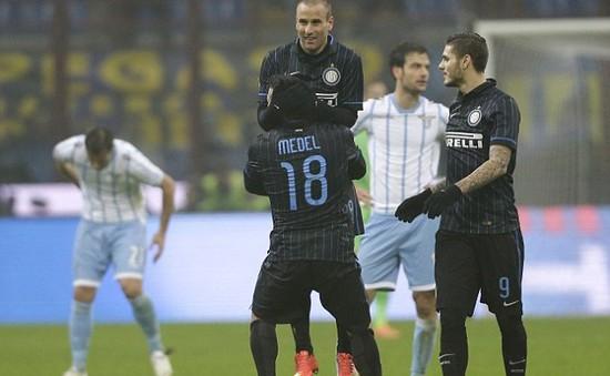 Inter Milan 2 - 2 Lazio: Nerazzurri hút chết