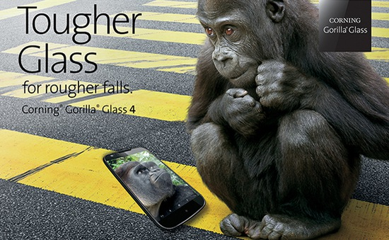 Gorilla Glass 4 - Mỏng nhưng bền hơn