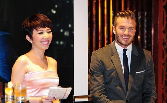 Nhờ học thức và không scandal, Tóc Tiên được Beckham chọn lựa