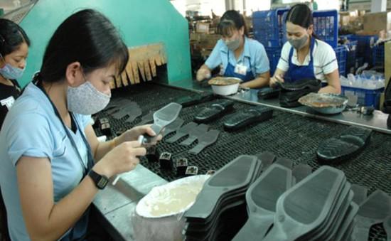 90% sản phẩm da giàyViệt Nam là hàng gia công xuất khẩu