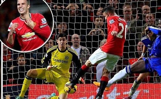 Man Utd 1-1 Chelsea: Van Persie lập đại công, Quỷ đỏ có điểm siêu kịch tính