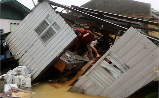 Philippines tổn thất ít nhất 22 triệu USD do bão Hagupit