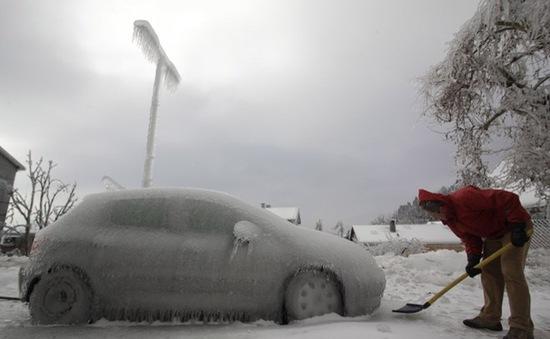 Bão tuyết tấn công Nhật Bản, 3 người thiệt mạng