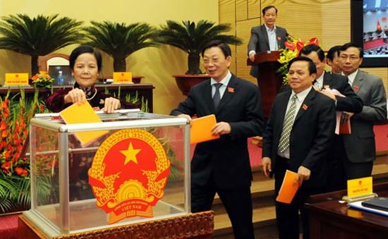 Chủ tịch HĐND TP Hà Nội có số phiếu tín nhiệm cao nhất