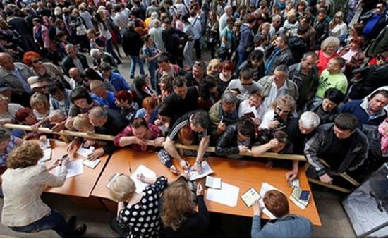 Ngày cuối cùng trước bầu cử ở Donetsk và Lugansk