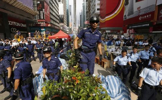 Cảnh sát Hong Kong bắt giữ thủ lĩnh biểu tình