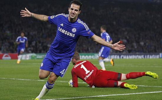 "Chelsea 1-1 Schalke: ""Kẻ phán quyết"" Cesc Fabregas"