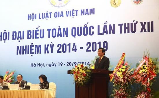 Đại hội đại biểu toàn quốc XII Hội Luật gia Việt Nam