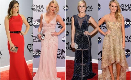 Dàn sao khoe sắc tại lễ trao giải CMA 2014