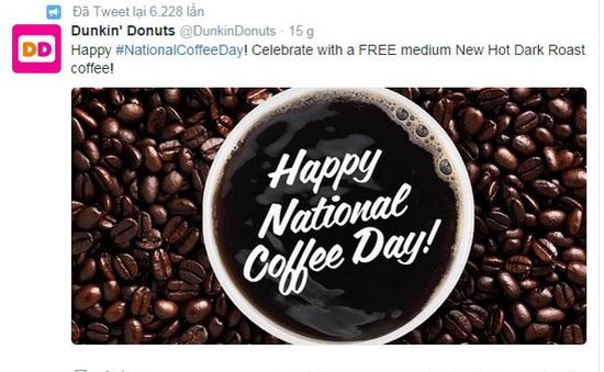 Các hãng cà phê Mỹ đua nhau quảng cáo qua Twitter