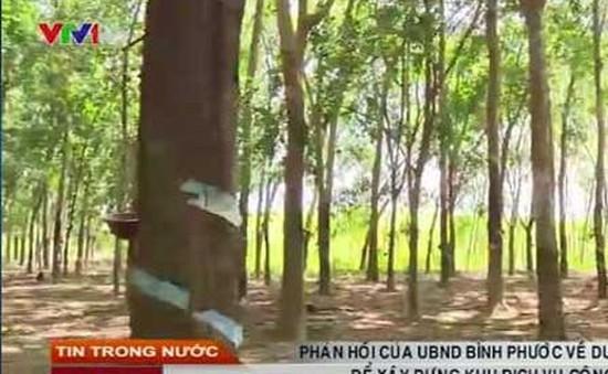 Lãnh đạo tỉnh Bình Phước đối thoại về vụ thu hồi đất có sổ đỏ