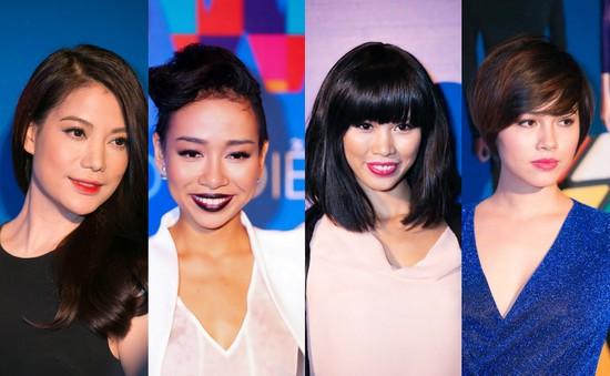 """""""Soi"""" tóc đẹp và đẳng cấp của sao Việt tại Elle Fashion Show"""