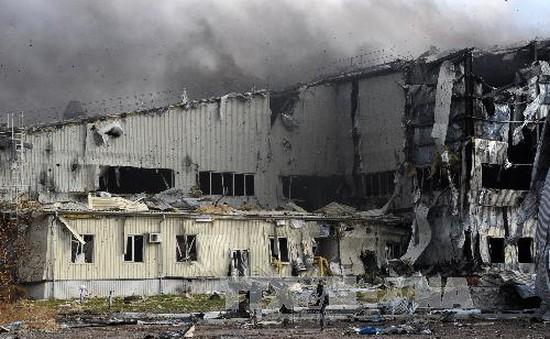 Ukraine viện trợ nhân đạo cho khu vực chiến sự Donetsk
