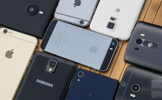 Thương hiệu điện thoại nào được sử dụng nhiều nhất 2014?