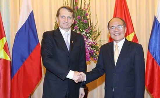 Chủ tịch Duma quốc gia Nga thăm chính thức Việt Nam