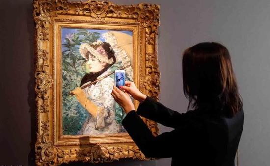 """Kiệt tác """"Le Printemps"""" của Manet đạt giá 65 triệu USD"""