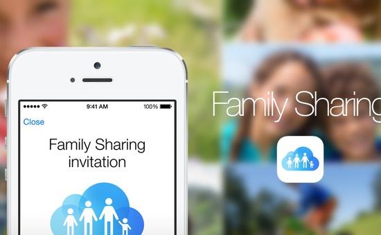 iOS 8 gặp lỗi tải ứng dụng khi cài Family Sharing