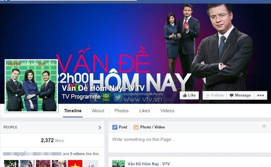 """""""Vấn đề hôm nay"""" ra mắt trang Facebook chính thức"""