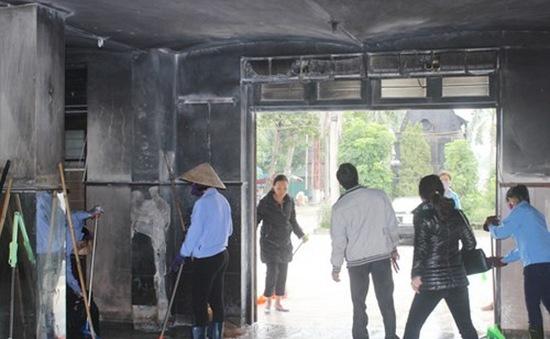 Bắt đối tượng phóng hỏa nhà ga TP Vinh
