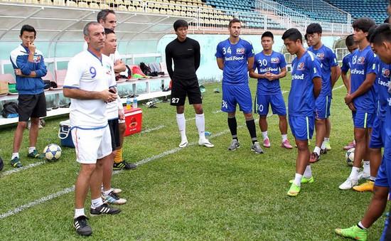HAGL chuẩn bị sang Thái Lan tập huấn