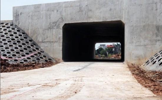 Xây dựng thêm hầm chui dân sinh tại Đông Anh (Hà Nội)