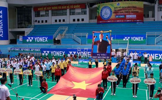 Đại hội TDTT toàn quốc: Hào hứng lễ khai mạc môn cầu lông