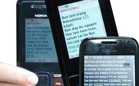 Nhà mạng phải xây dựng hệ thống kỹ thuật chặn tin nhắn rác