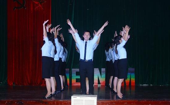 Hé lộ lễ tổng duyệt văn nghệ của đại biểu Tàu thanh niên Đông Nam Á