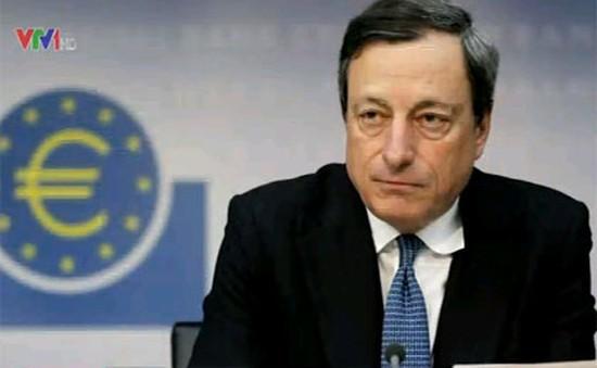 ECB lạc quan về tăng trưởng kinh tế khu vực đồng euro