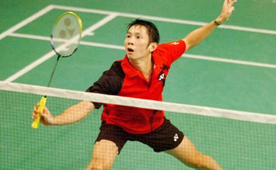 Tiến Minh dừng bước ở giải Cầu lông VĐTG
