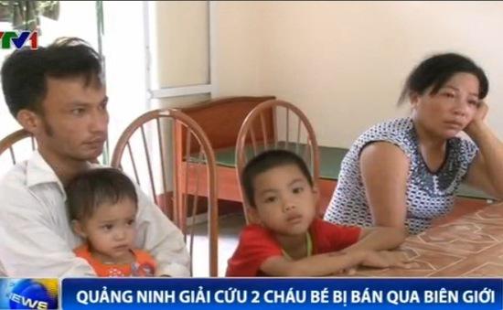 Giải cứu thành công hai cháu bé bị bán sang Trung Quốc