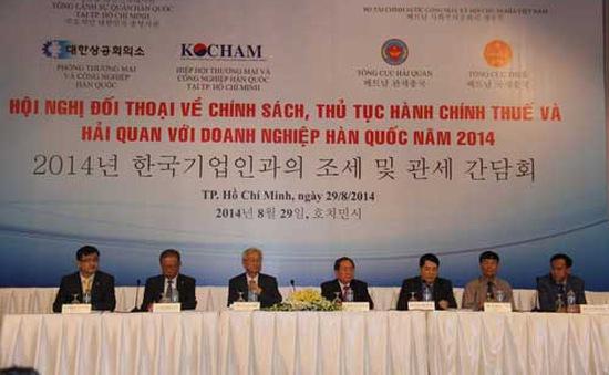 Tổng cục Thuế đối thoại với doanh nghiệp Hàn Quốc