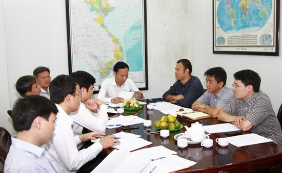 Đảng ủy Khối làm việc với một số Chi, Đảng ủy trực thuộc Đài THVN