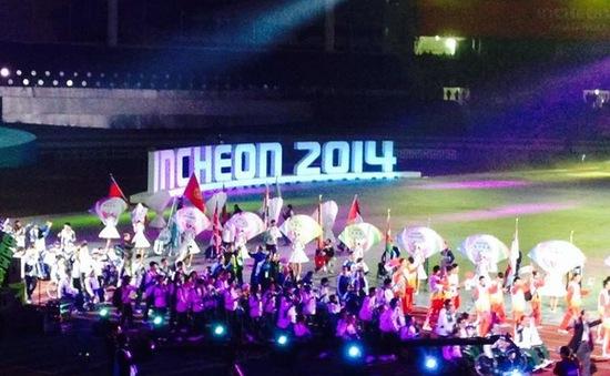 Lễ bế mạc Asian Para Games 2014 tràn ngập màu sắc truyền thống Hàn Quốc