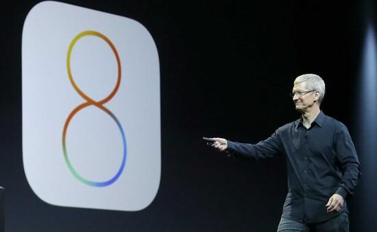 Đã có thể tải và cập nhật iOS 8