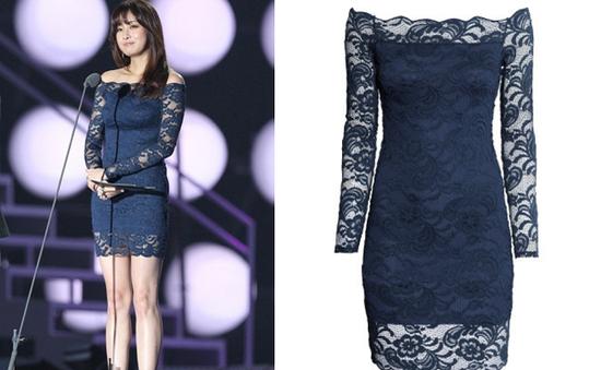 Sao Hàn bật mí lí do diện váy rẻ tiền