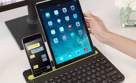 Logitech trình làng bàn phím smartphone thế hệ mới