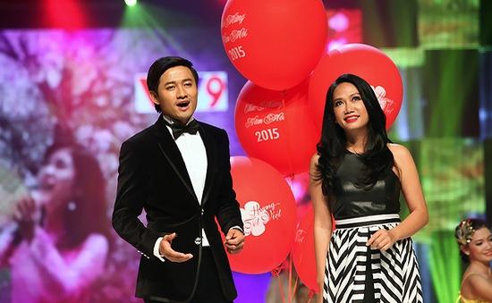 Hương Tết Việt 2015: Quý Bình lần đầu sánh đôi đàn chị Kim Khánh