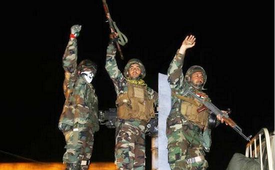 Người Kurd Iraq vượt biên giới Thổ Nhĩ Kỳ để bảo vệ Kobani