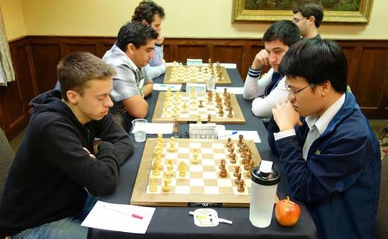 Đánh bại kỳ thủ Mỹ, Quang Liêm lên vị trí thứ hai