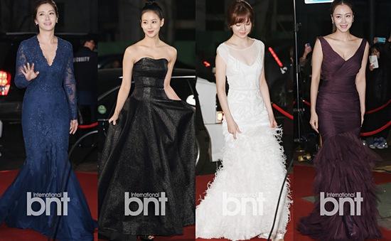 """Soi"" trang phục sao Hàn tại MBC Drama Awards 2014"