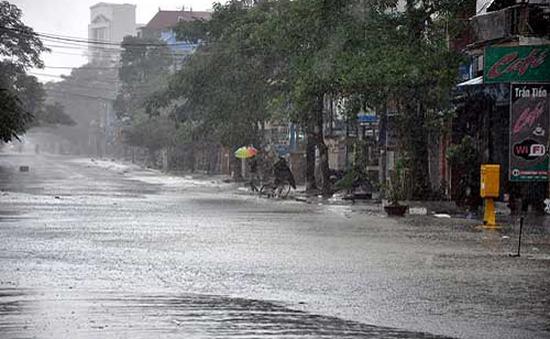 Bão số 5 sẽ suy yếu thànháp thấp nhiệt đới