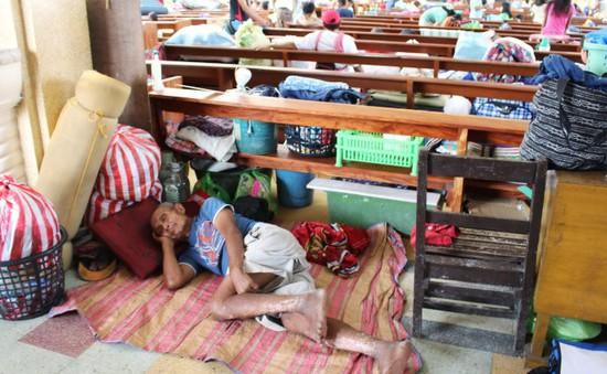 Philippines đóng cửa nhiều trường học và công sở do bão Hagupit