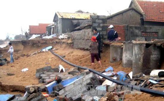 Phú Yên: Triều cường lại uy hiếp Xóm Rớ