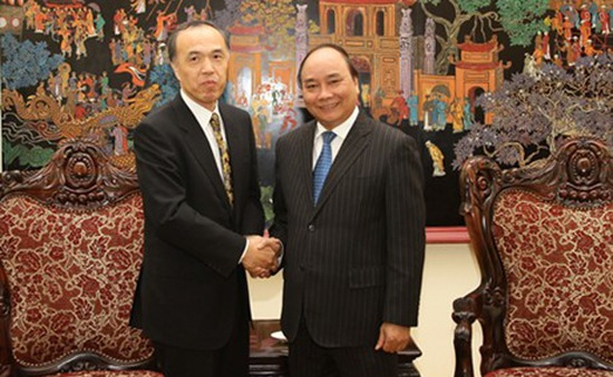 Phó Thủ tướng Nguyễn Xuân Phúc tiếp lãnh đạo Cơ quan Nhân sự quốc gia Nhật Bản