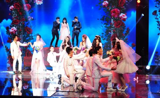 Cặp đôi hoàn hảo 2014 - Liveshow 1: Đêm của tình yêu