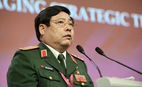 Bộ trưởng Quốc phòng Việt Nam tiếp xúc với Myanmar và Brunei