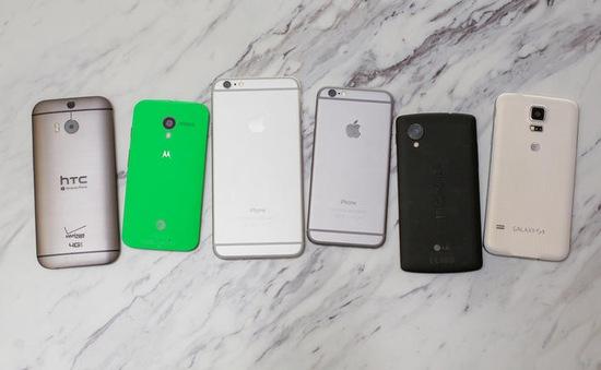 """Top 5 smartphone """"đổ bộ"""" vào Việt Nam trong tháng 11"""